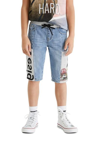 džínsy Desigual Pol denim medium wash