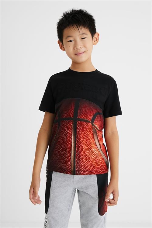 tričko Desigual Manuel negro