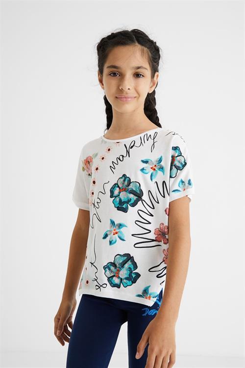 tričko Desigual Berlin blanco