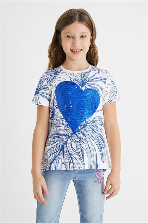 tričko Desigual Greta blanco
