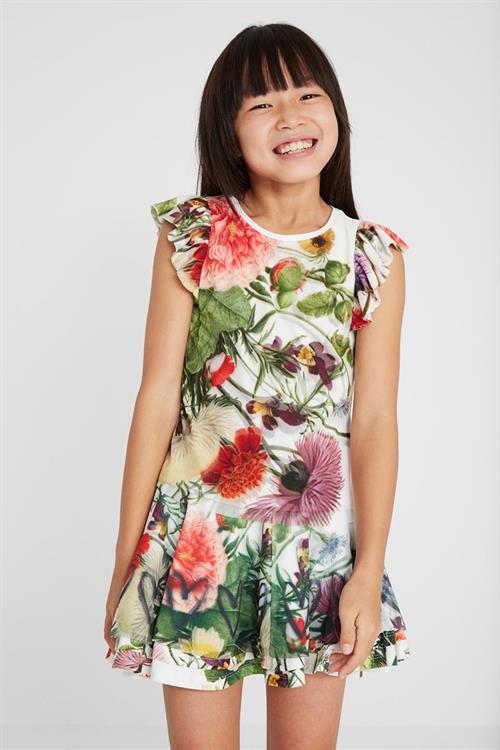 tričko Desigual Blossom blanco
