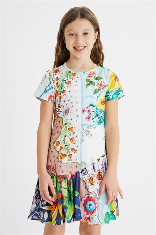 šaty Desigual Noemi blanco