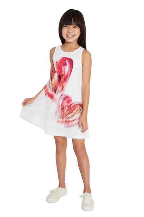 šaty Desigual Leticia blanco
