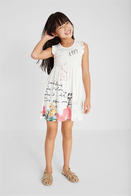 šaty Desigual Karen blanco