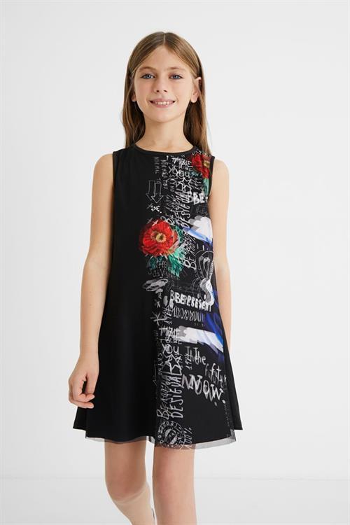 šaty Desigual Grace negro