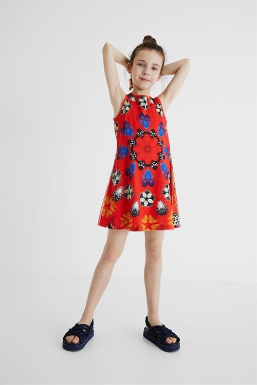 šaty Desigual Juno carmin