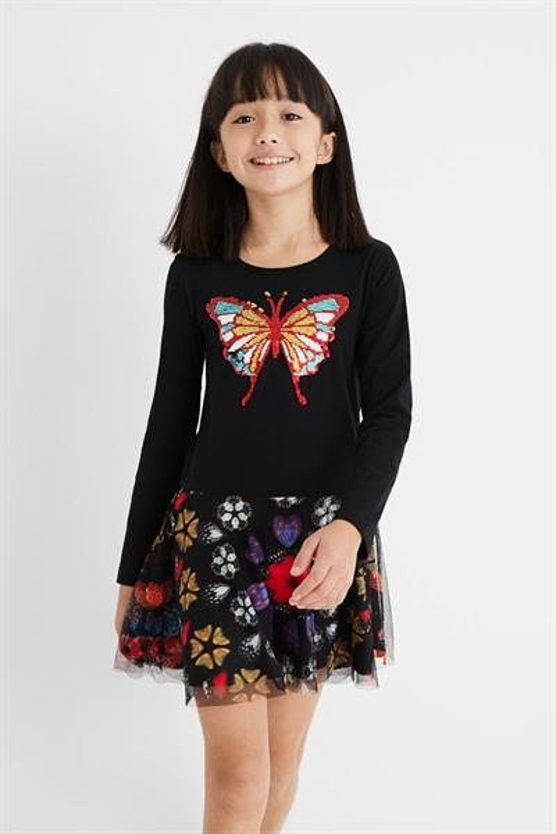 šaty Desigual Kayla negro