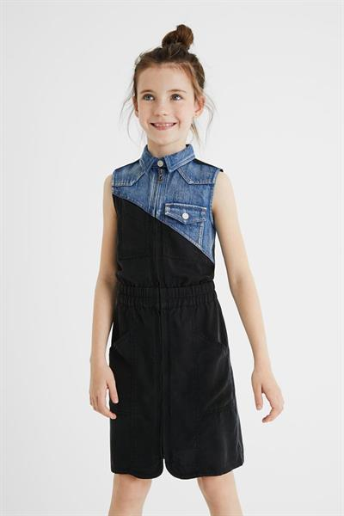 šaty Desigual Iratxe negro