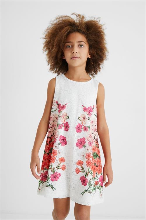 šaty Desigual Mariona blanco