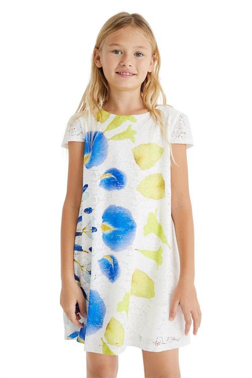 šaty Desigual Silvia blanco