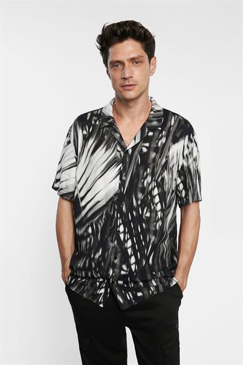 košile Desigual Agileo negro