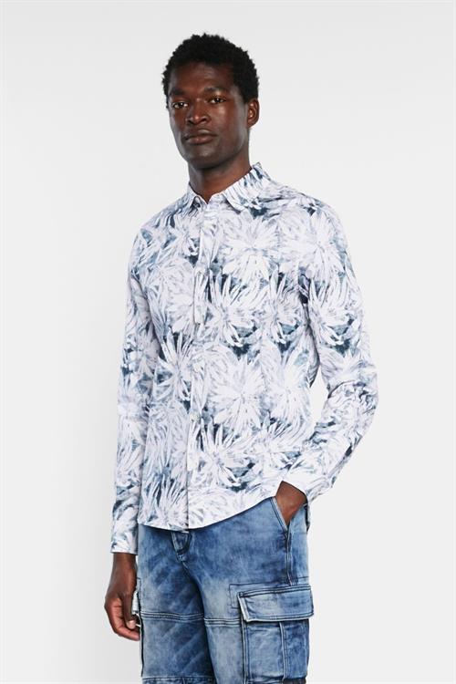 košile Desigual Agnelo blanco