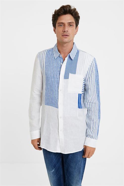 košile Desigual Alejo blanco