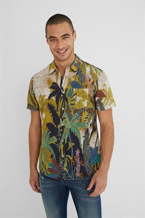 košeľa Desigual Alfredo artisan