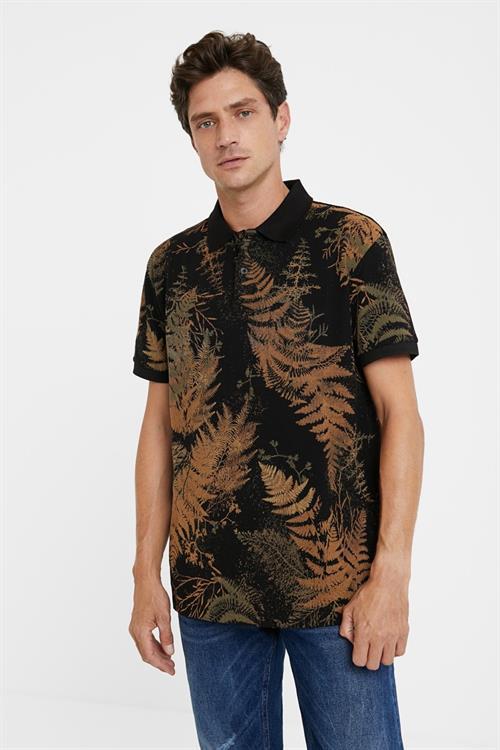 tričko Desigual Tony negro