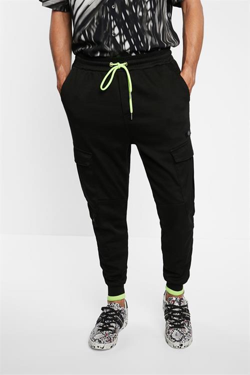 kalhoty Desigual Tarsilo negro