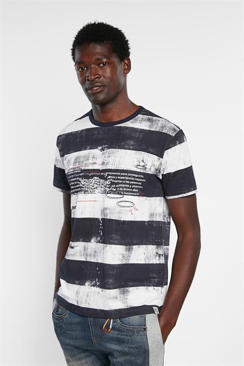 tričko Desigual Calisisto navy