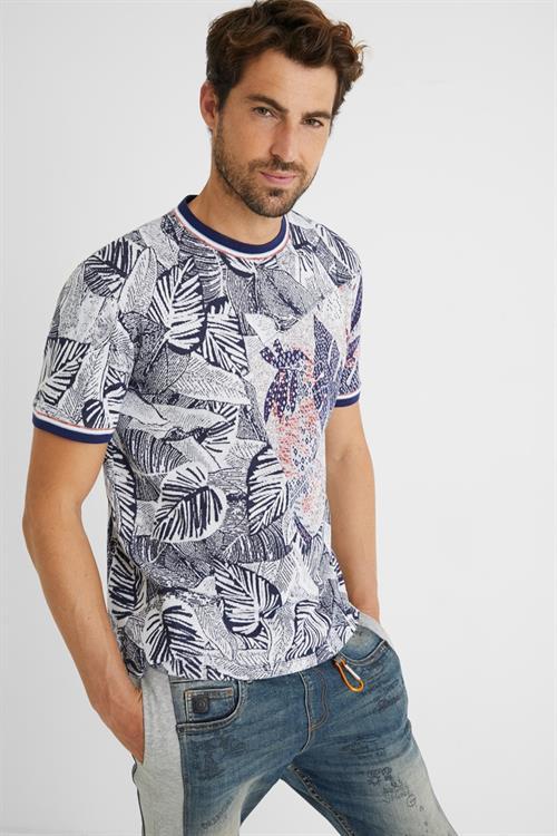 tričko Desigual Cadmo navy