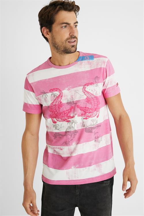 tričko Desigual Cecil rosa