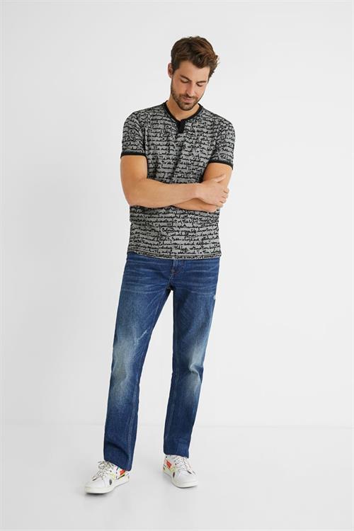 tričko Desigual Camilo carbon