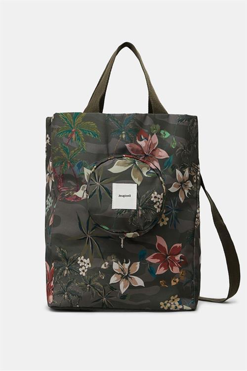 taška Desigual Bag Namast kaki oscuro