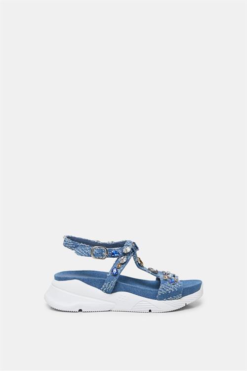 sandály Desigual Yuniker Denim jeans