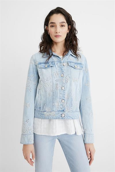 bunda Desigual Calm denim light wash