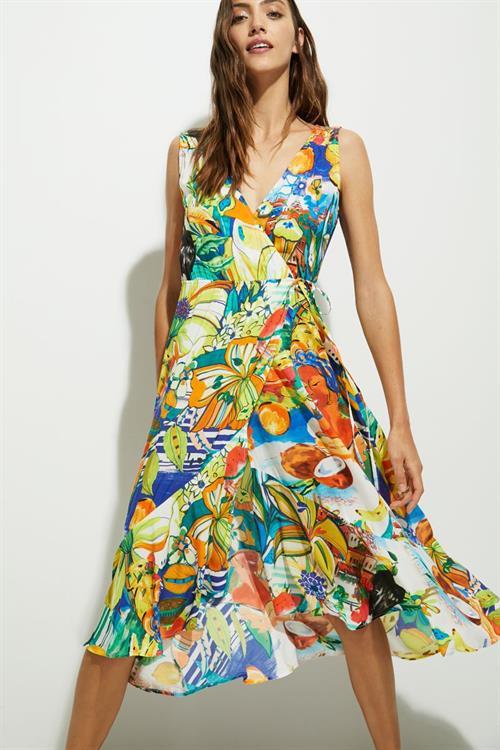 šaty Desigual Ibiza lime green