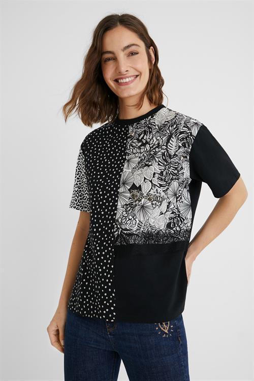 tričko Desigual Loris negro