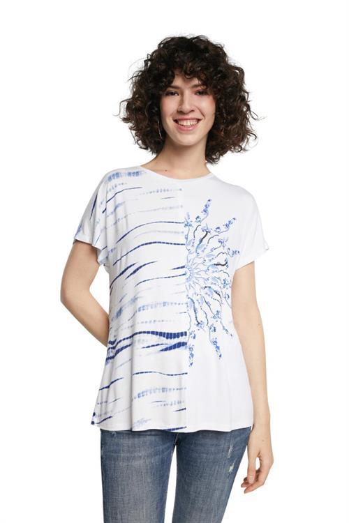 tričko Desigual Nanette blanco