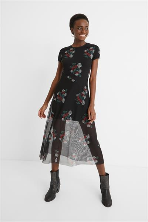 šaty Desigual Estela negro