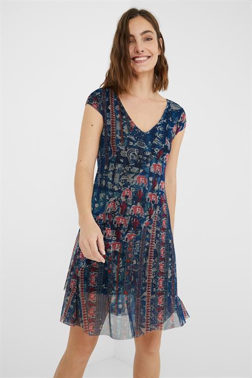 šaty Desigual Merry marino