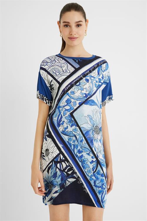 šaty Desigual Solimar estate blue