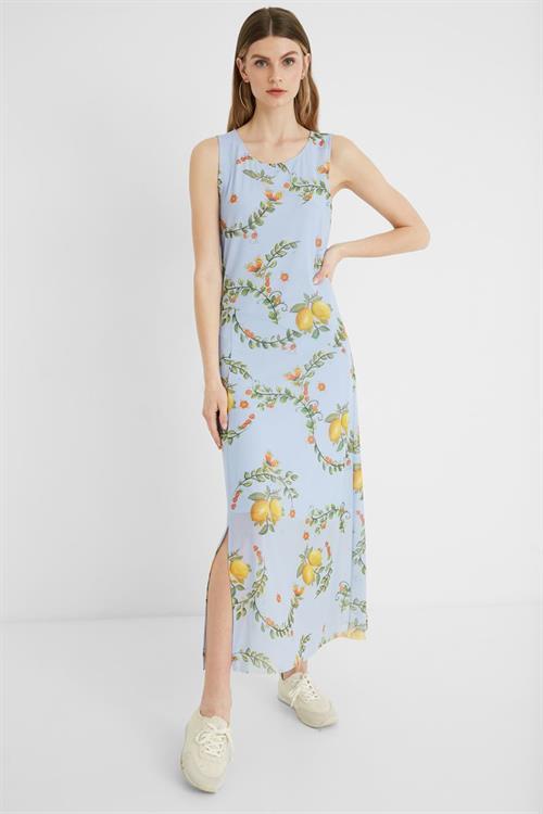 šaty Desigual Miami kentucky blue