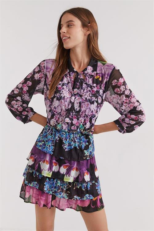 šaty Desigual Olimpia negro