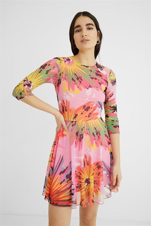 šaty Desigual Rash candy pink