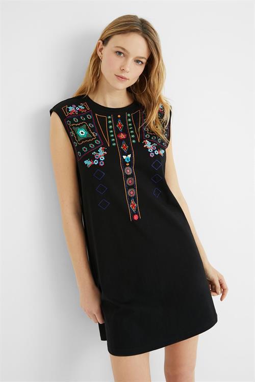 šaty Desigual Demi negro