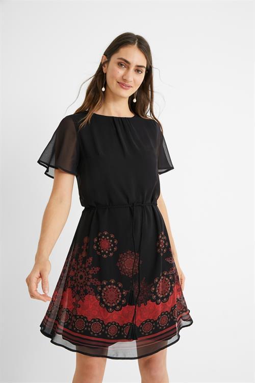 šaty Desigual Tampa negro
