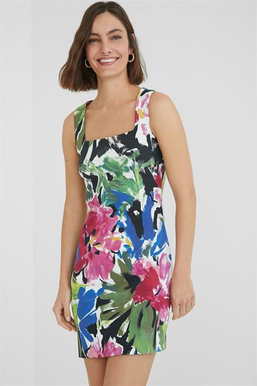 šaty Desigual Honolulu tutti fruti