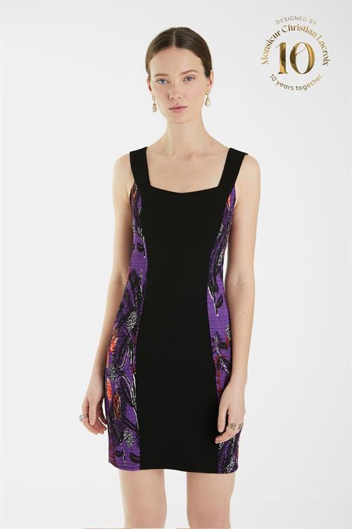 šaty Desigual Baton Rouge negro