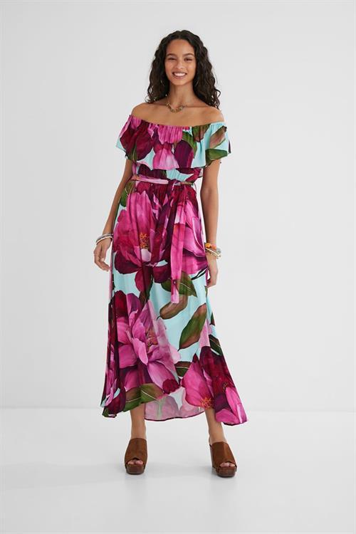 šaty Desigual Arles rosa marlen