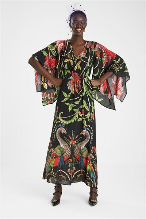 šaty Desigual Limoges negro