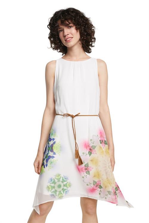 šaty Desigual Shen blanco