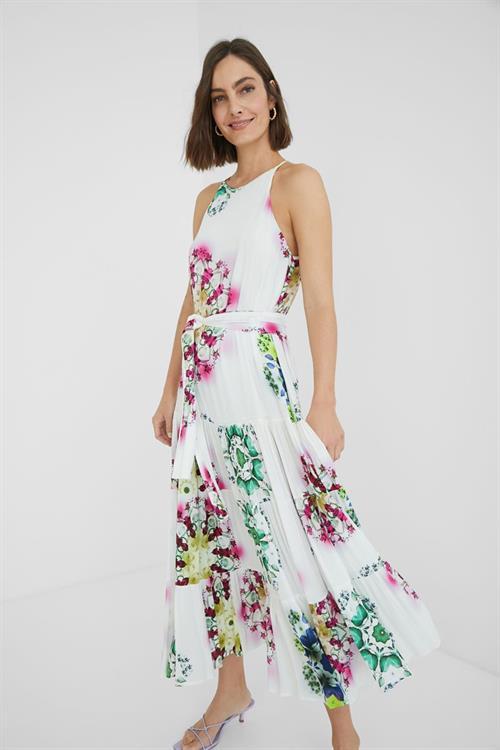 šaty Desigual Sena blanco