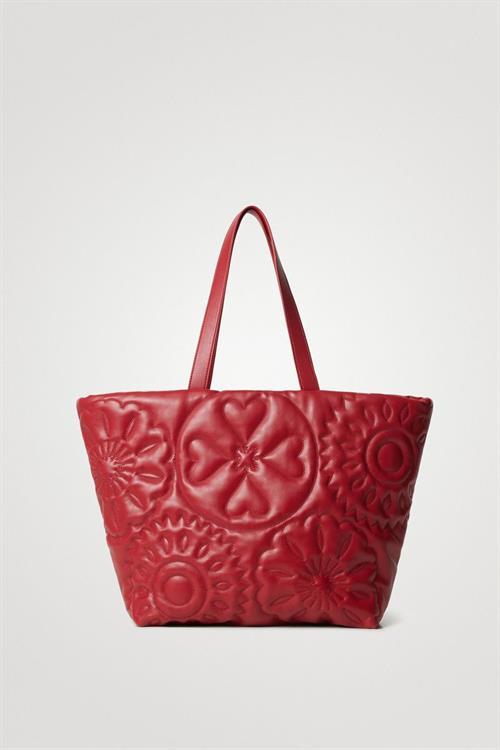 kabelka Desigual Big Big Bombay rojo oscuro