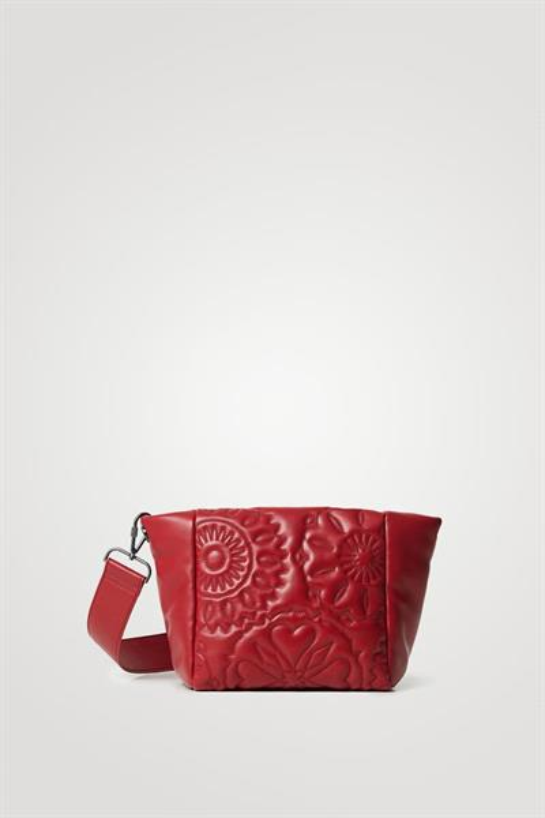 kabelka Desigual Big Big Amber rojo oscuro