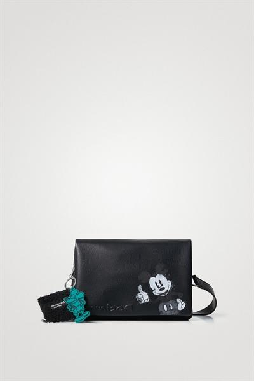 kabelka Desigual Mickey Dortmund Flap negro