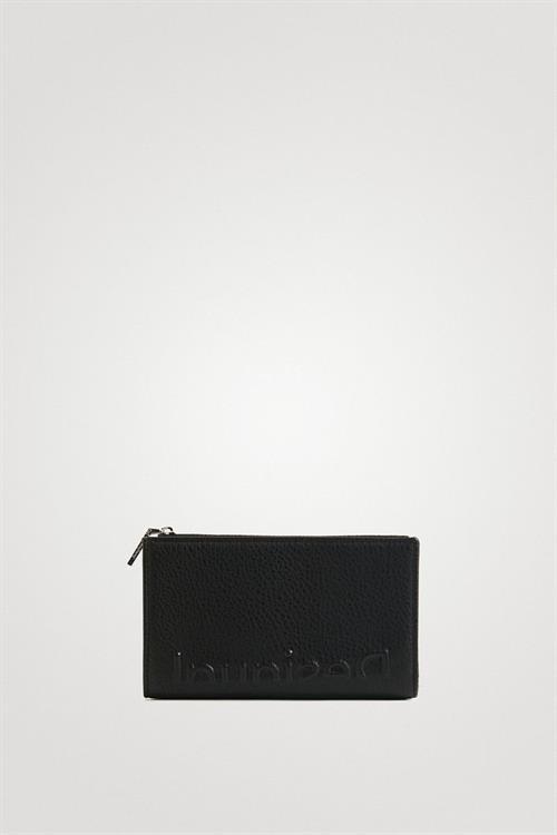 peněženka Desigual Embossed Half Emma negro