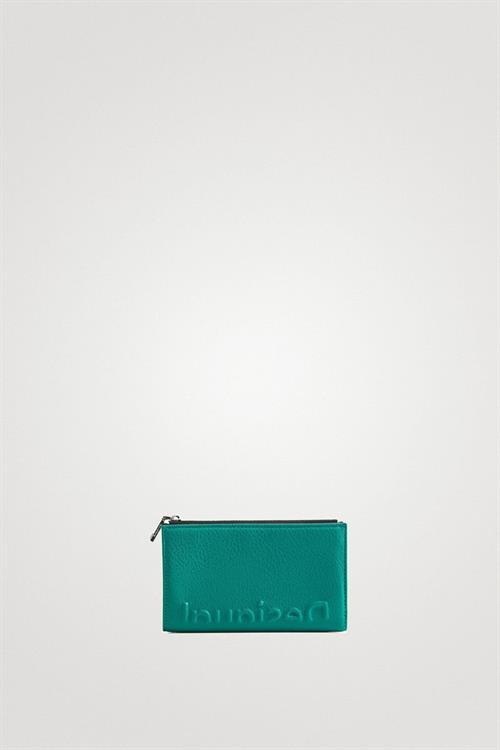 peněženka Desigual Embossed Half verde oscuro