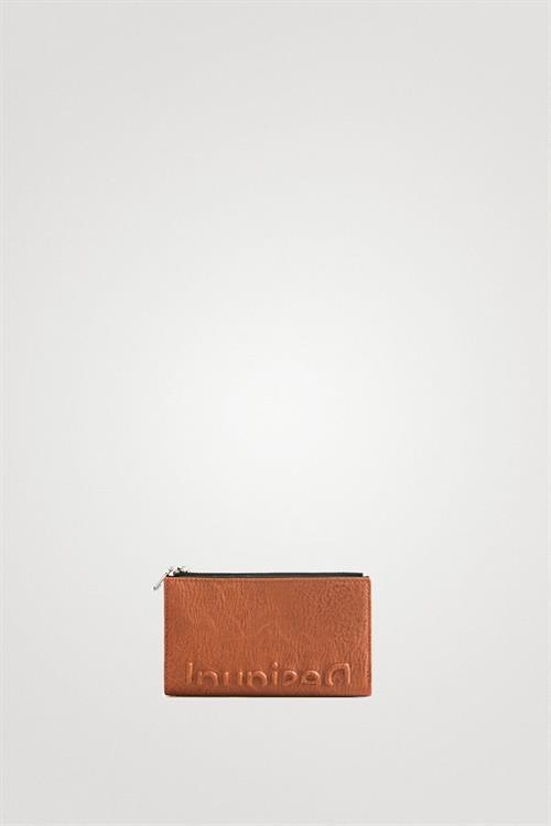 peněženka Desigual Embossed Half beige oscuro